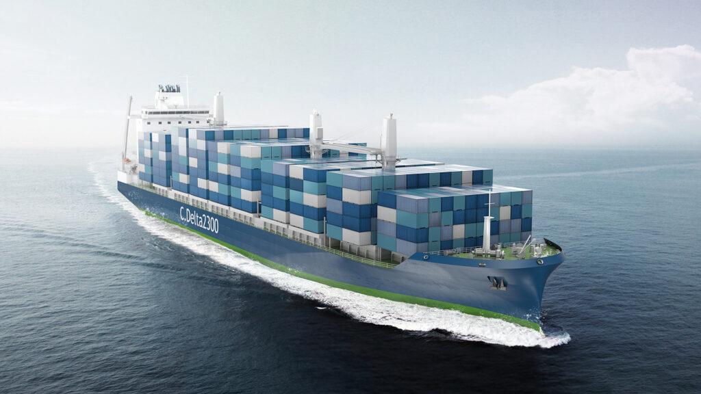 Deltamarin unveils new LNG-powered boxship design