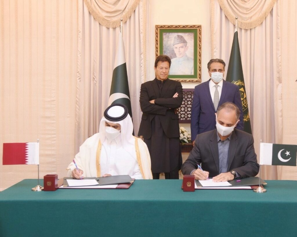 QP inks LNG supply deal with Pakistan's PSO