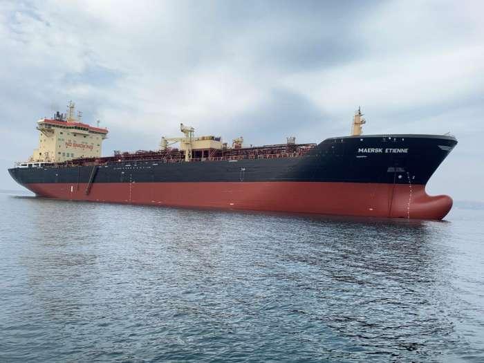 Maersk Etienne tanker
