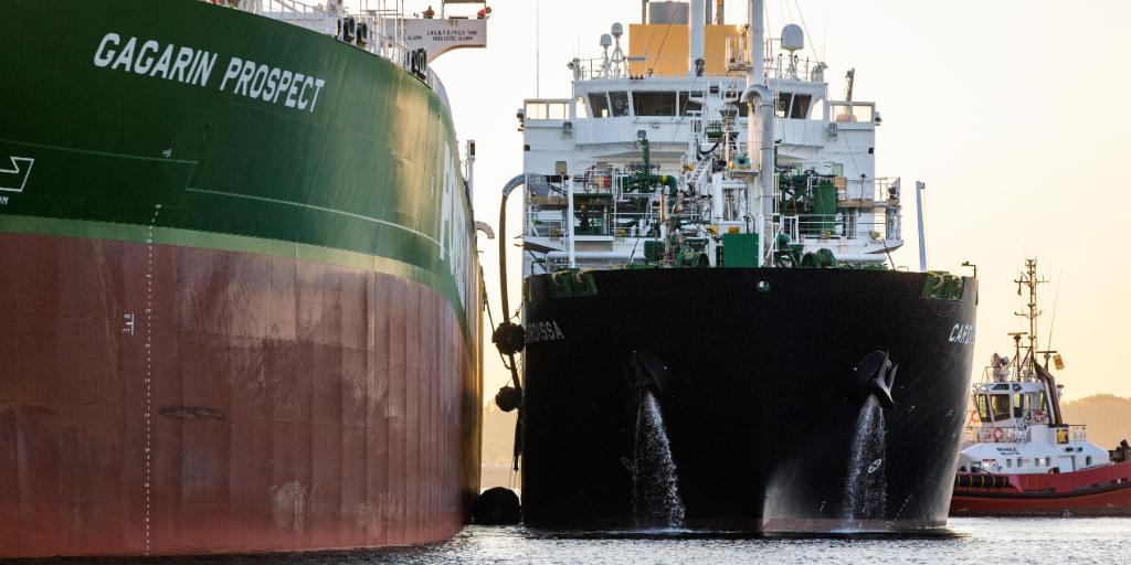 Shell boosts LNG bunkering network