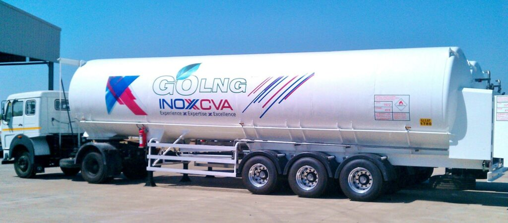 INOXCVA sets up LNG Dispenser in India