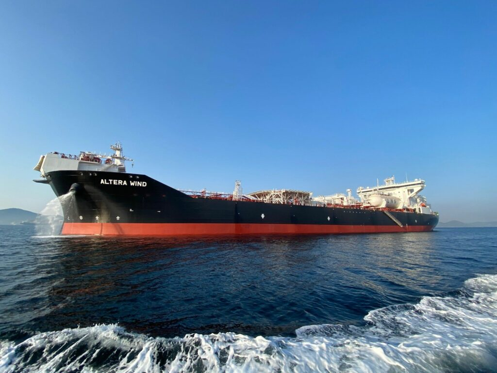 Altera takes delivery of sixth LNG-fueled shuttle tanker