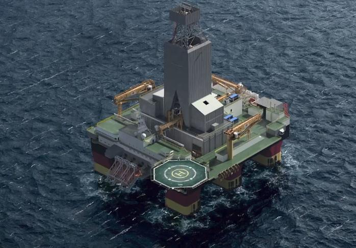 Stena MidMAX semi-submersible rig design