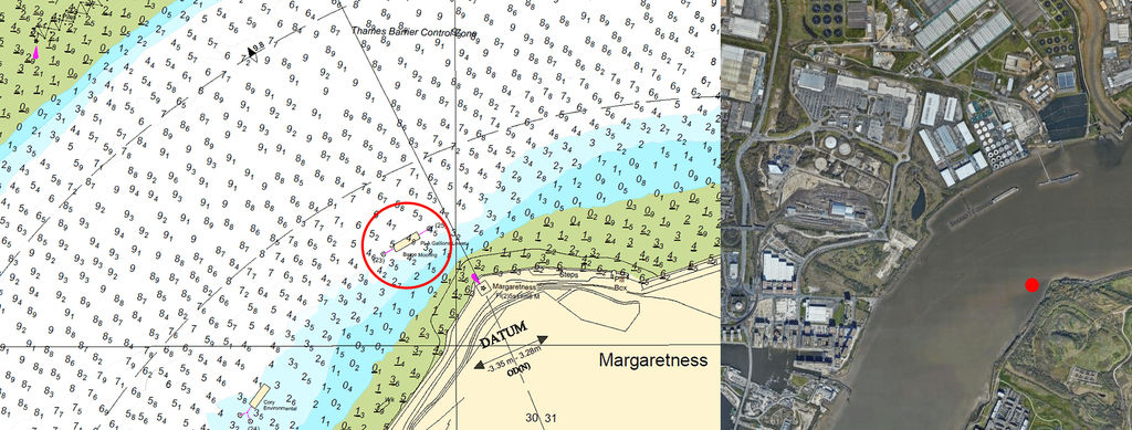 Image showing Thames tidal test site location (Courtesy of PLA)