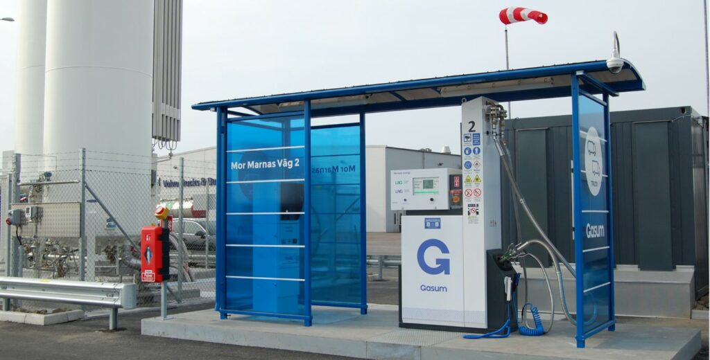 Gasum opens Malmö LNG fueling station