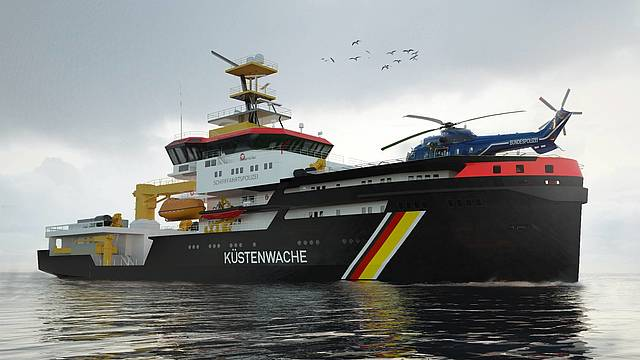 Schottel propulsion picked for German LNG-fueled trio