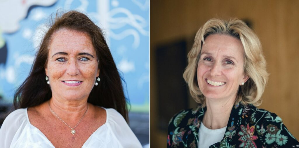 Grete Tveit, senior vice president for Low Carbon Solutions, and Irene Rummelhoff, executive vice president for Marketing, Midstream & Processing