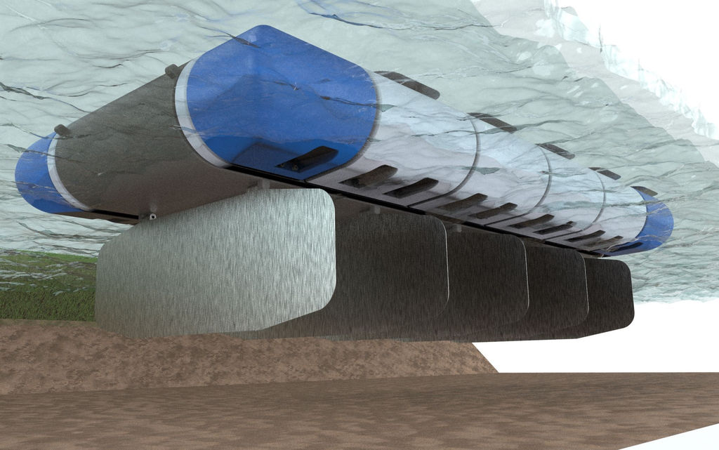 The concept for MOWT system (Courtesy of Ecosse IP)