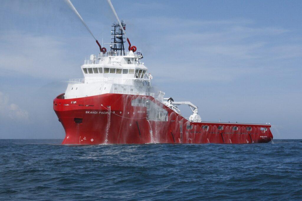 Skandi Pacific vessel - DDW Offshore - Akastor