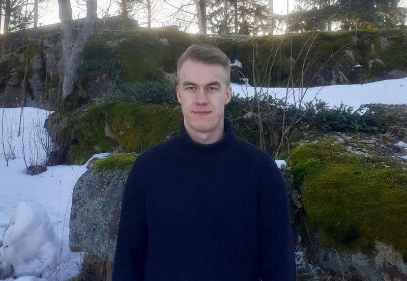 Photo of Patrik Pykälä-Aho (Courtesy of AW-Energy)