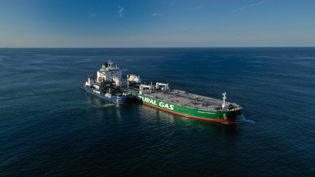 SCF, Shell complete first Aframax LNG bunkering in the USA