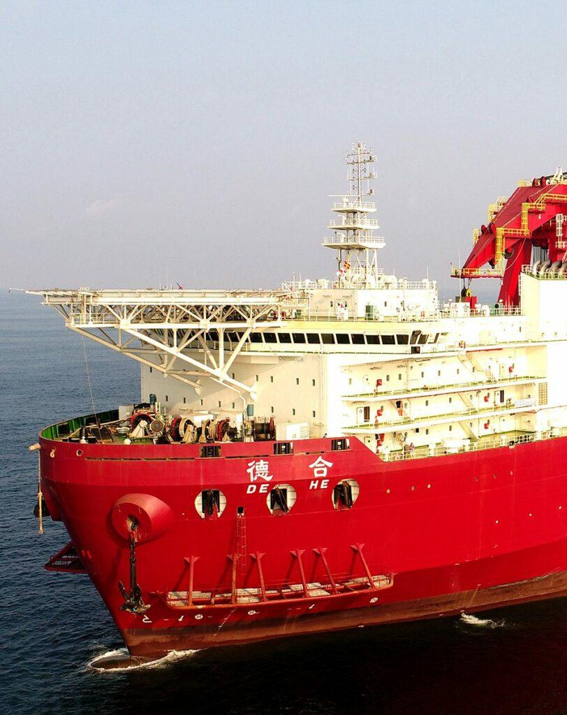 DE HE vessel - Saipem
