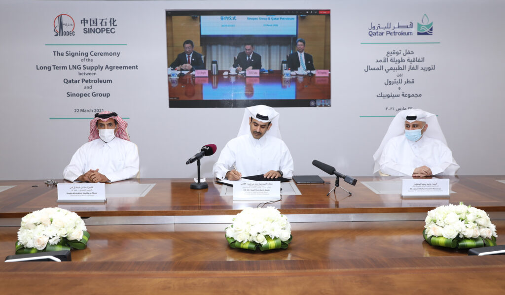 Qatar Petroleum pens LNG supply deal with Sinopec