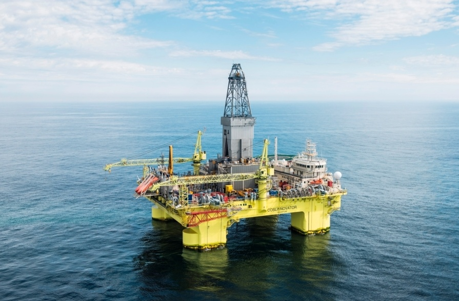 COSLInnovator rig drilled the Jerv well for Chrysaor