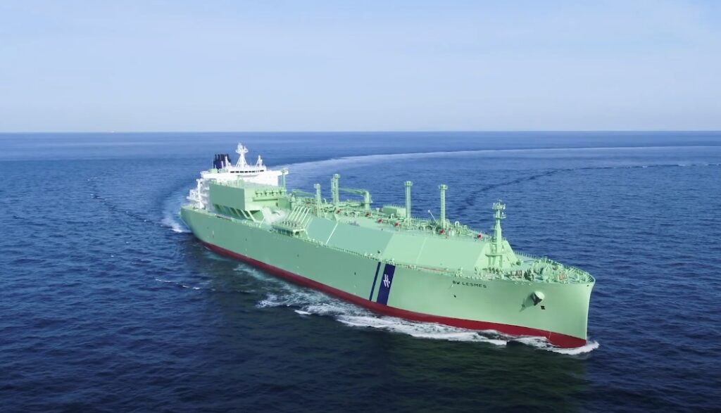 BW LNG takes delivery of BW Lesmes