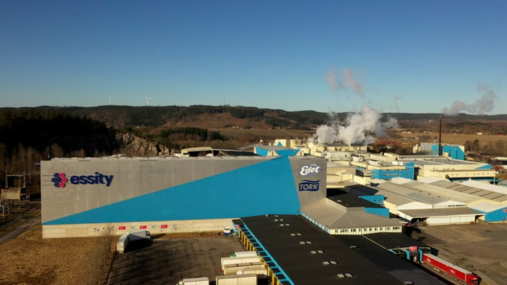 Essity turns to LBG for fossil-free production
