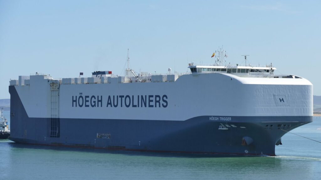 Höegh Autoliners concludes its first carbon-neutral journey