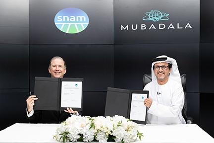 Snam inks hydrogen MoU with Mubadala