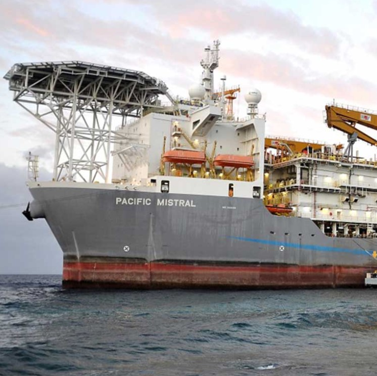 Noble will dispose of Pacific Mistral drillship