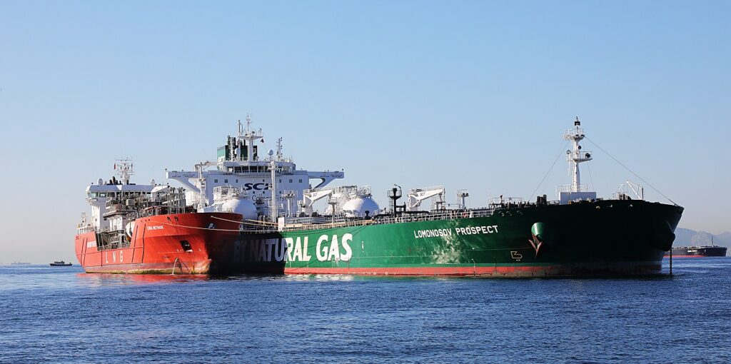 Shell wraps up first LNG bunkering in Gibraltar