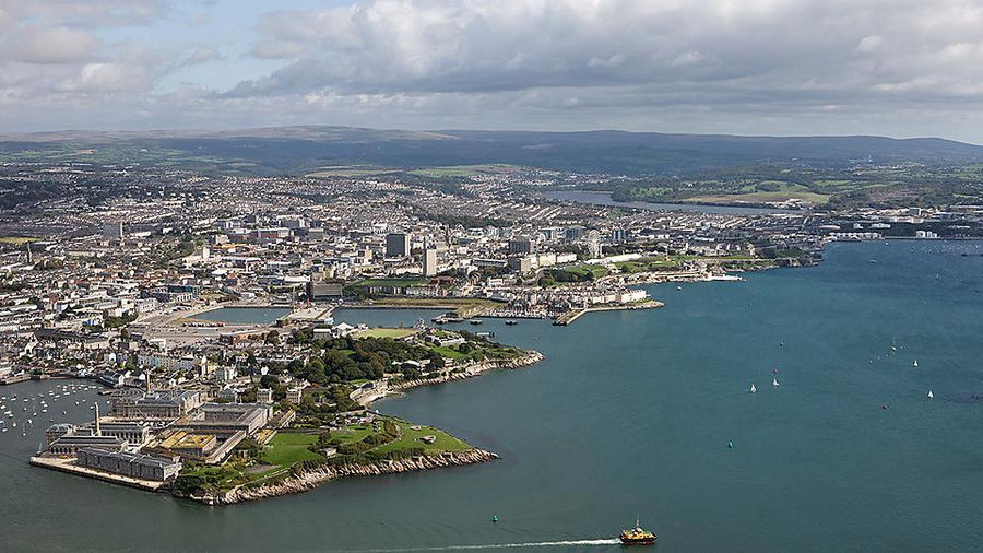 A port city of Plymouth will host EWTEC 2021 (Courtesy of the University of Plymouth)