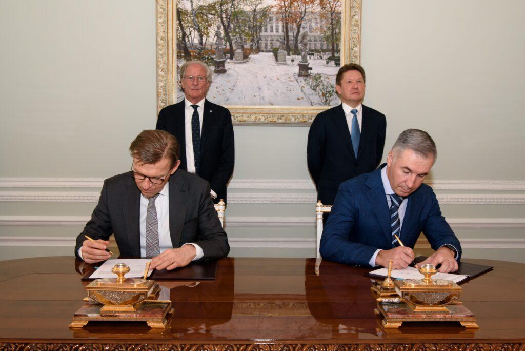 Gazprom, Linde in Ust-Luga complex deal