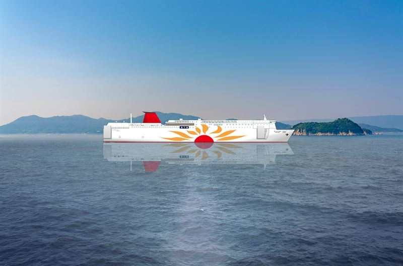 MOL secures supply for LNG-fueled ferry pair