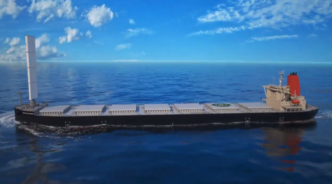 Wind Challenger vessel concept