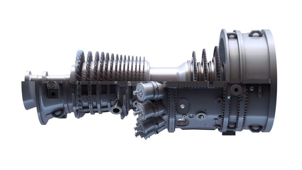 GE's 9F.3/9F.04 Gas Turbine