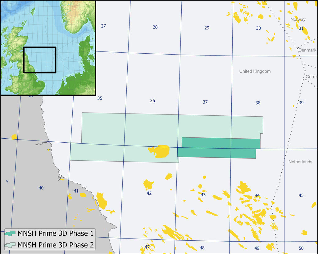 Image showing the Mid North Sea High survey area (Courtesy of ION)