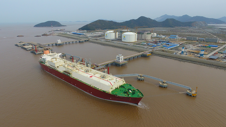 China's ENN issues a tender seeking 10 years of LNG