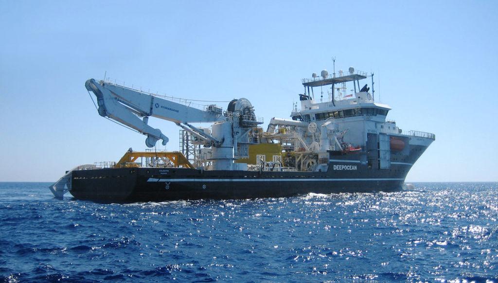 Photo of Volantis vessel (Courtesy of DeepOcean)