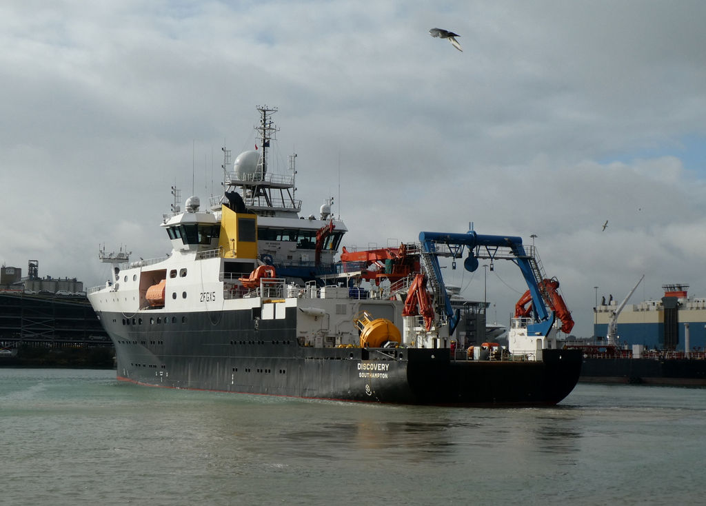 Royal Research Ship (RRS) Discovery (Courtesy of NOC)