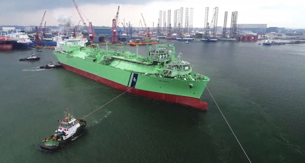 BW LNG grabs 5-year deal with FGEN