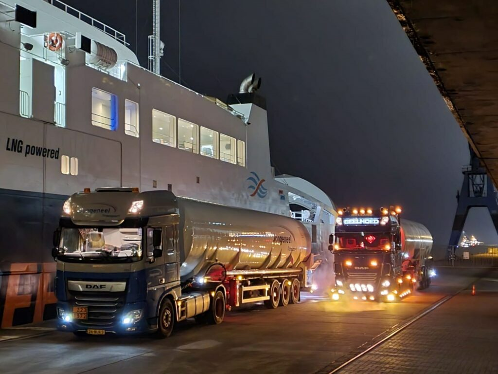 LIQUIND Marine, GasCom secure Greenferry 1 LNG bunkering job