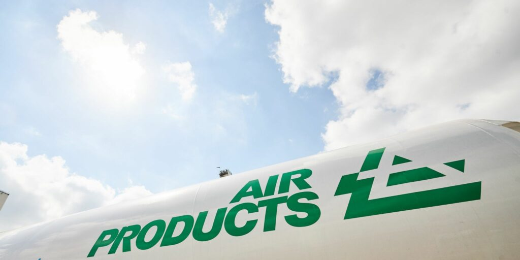 Air Products opens a new hydrogen fueling station Ulsan, South Korea