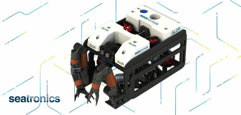 Image showing Seatronics' VALOR ROV (Courtesy of Seatronics)