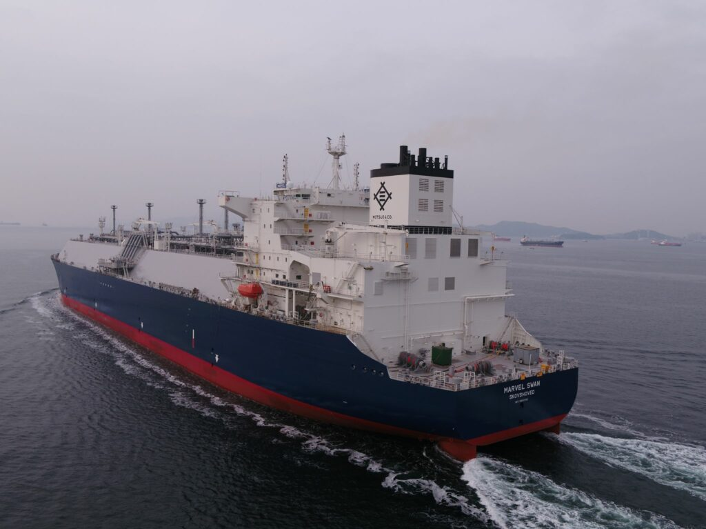 HHI delivers Navigare's first LNG carrier