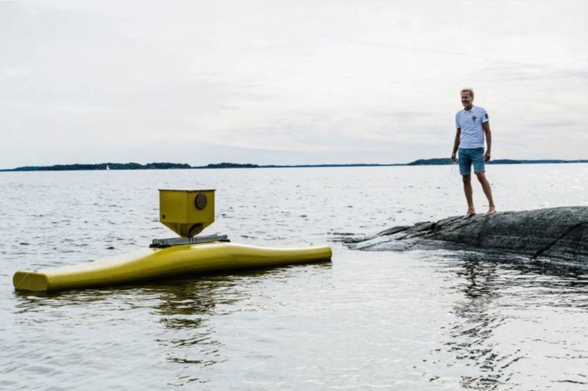 Photo of NoviOcean prototype (Courtesy of Novige/Photo by Peter Cederling)