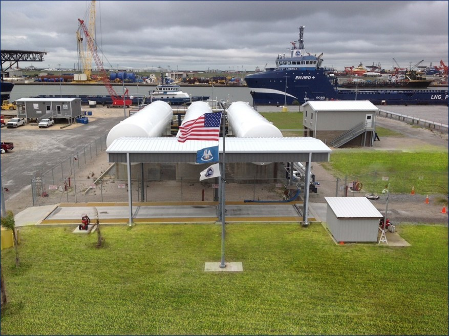 Harvey Gulf completes 1000th LNG bunkering op