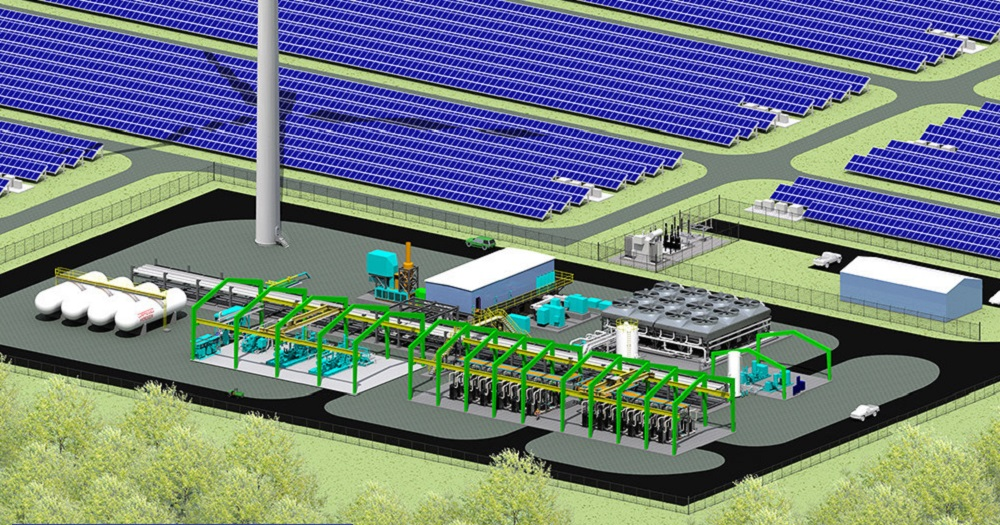 McDermott, New Energy deliver for green hydrogen facility