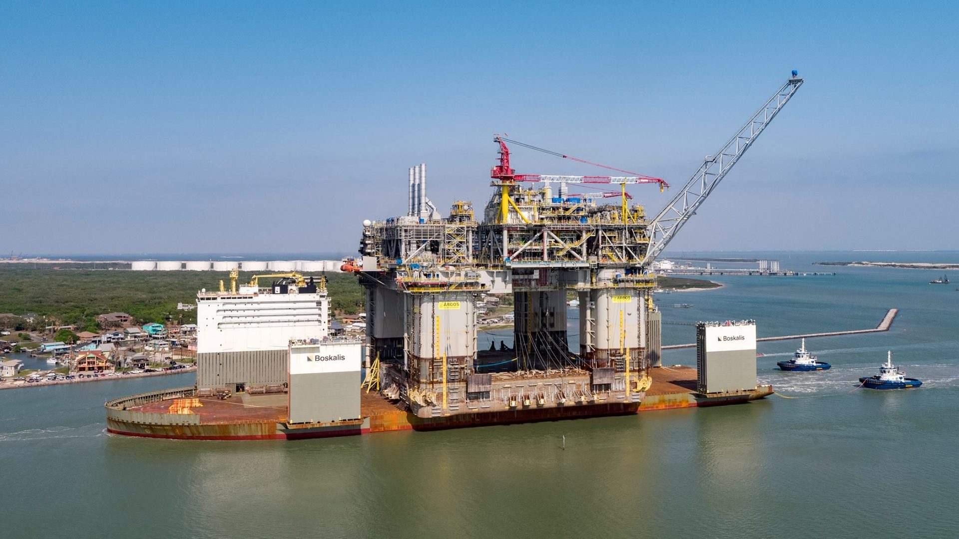 BP's Argos arrives in Texas