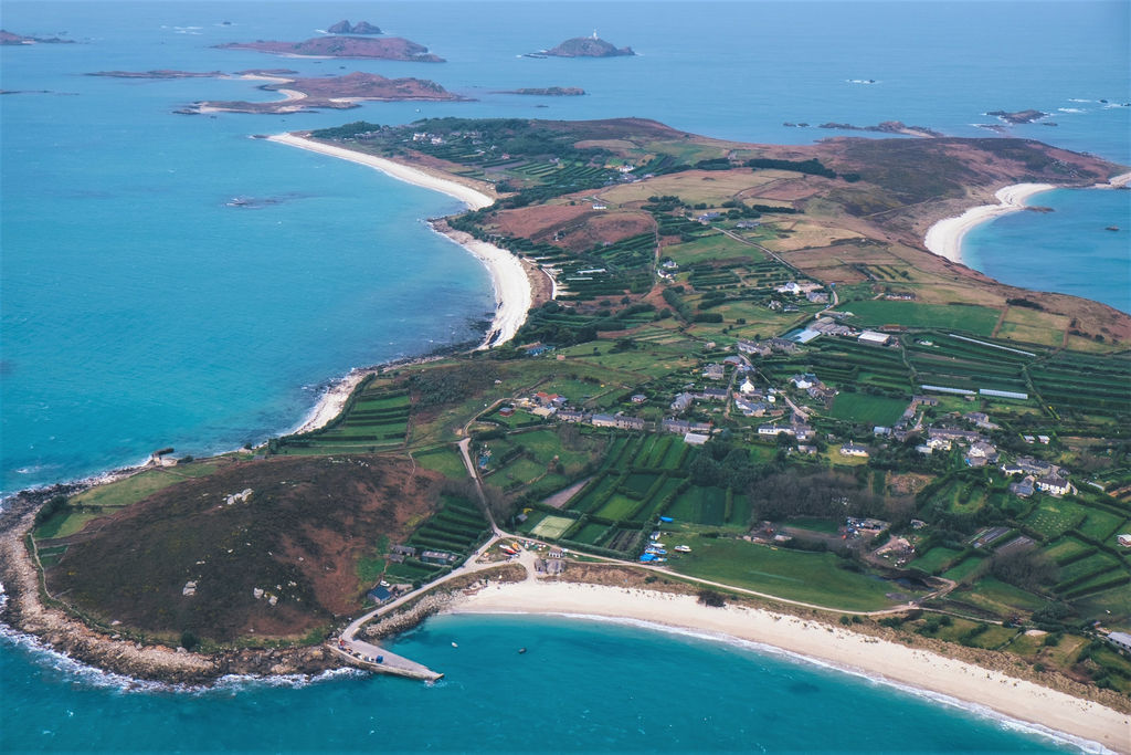 Photo of St Mary's, the largest and most populous island of the Isles of Scilly (Courtesy of Marine-i)