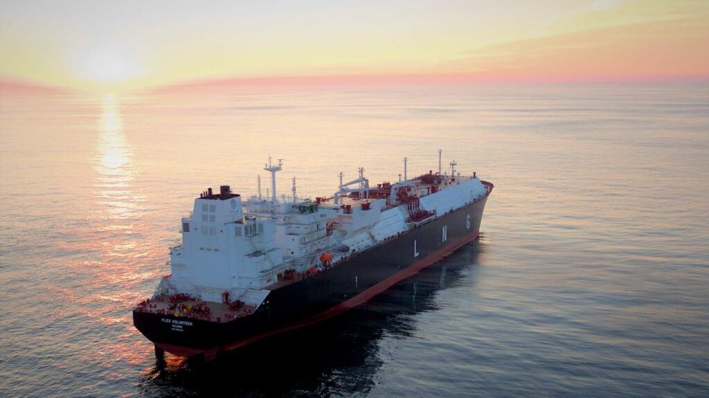 Flex LNG charter quartet to Cheniere