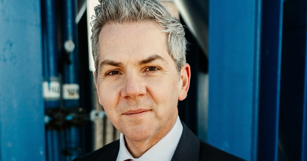 Photo of Fraser Moonie, Decom North Sea's new chief executive office (Courtesy of Decom North Sea)