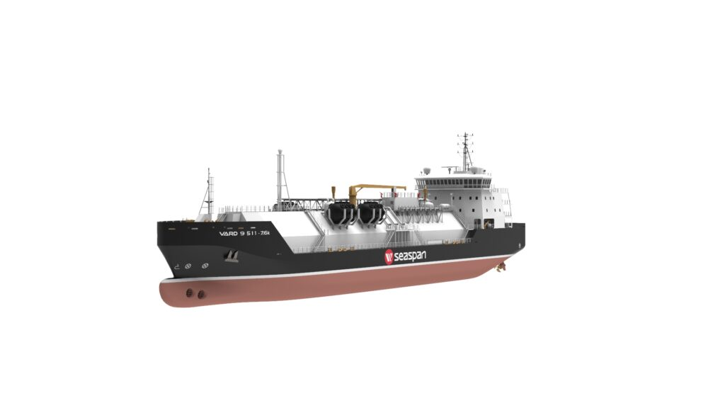 Bureau Veritas approves SeaspanLNG's bunker vessel