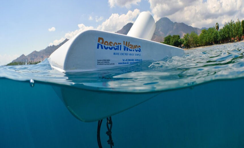 Resen Waves' Smart Power Buoy (Courtesy of Resen Waves)