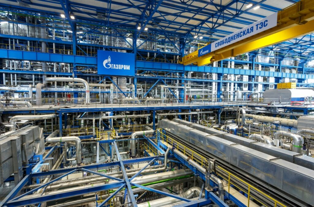 Gazprom continues hydrogen energy development