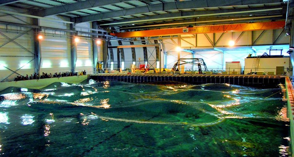 Illustration/ECN – Hydrodynamic and Ocean Engineering Tank (Courtesy of MaRINET2)