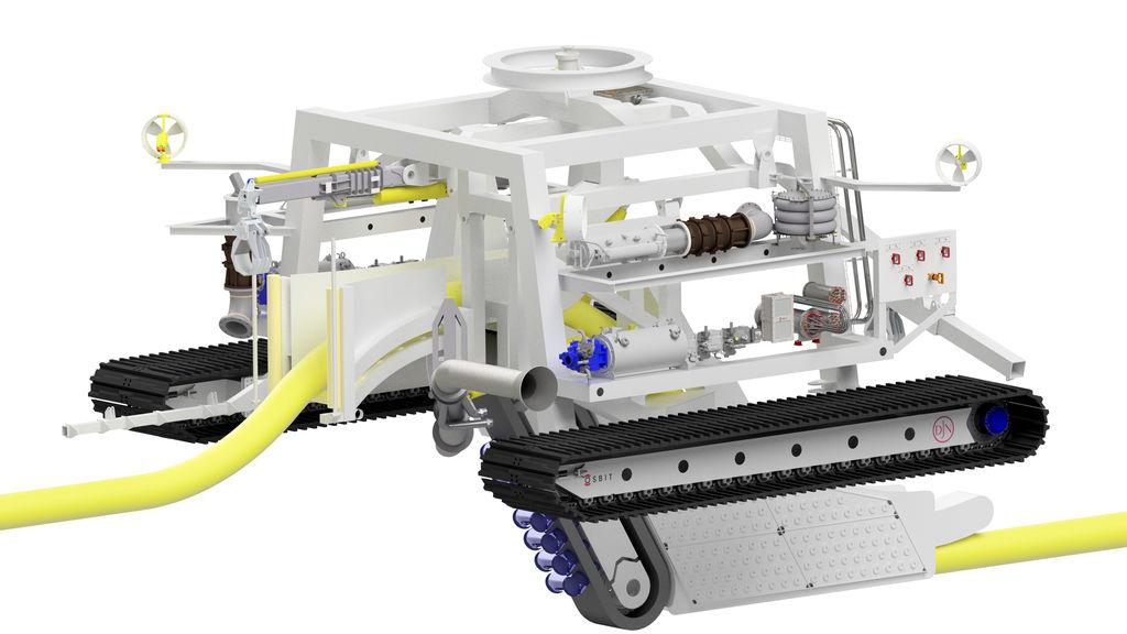 Image showing Jan de Nul's new Swordfish subsea trencher (Courtesy of Jan de Nul Group)